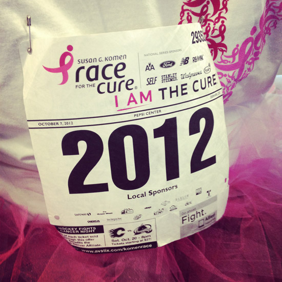 Denver Race for the Cure 2012