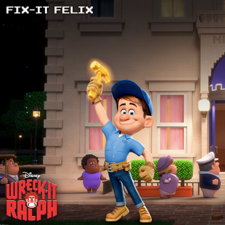 Felix in Wreck-It Ralph