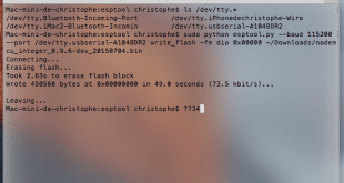 esptool flash firmware mise a jour update esp8266