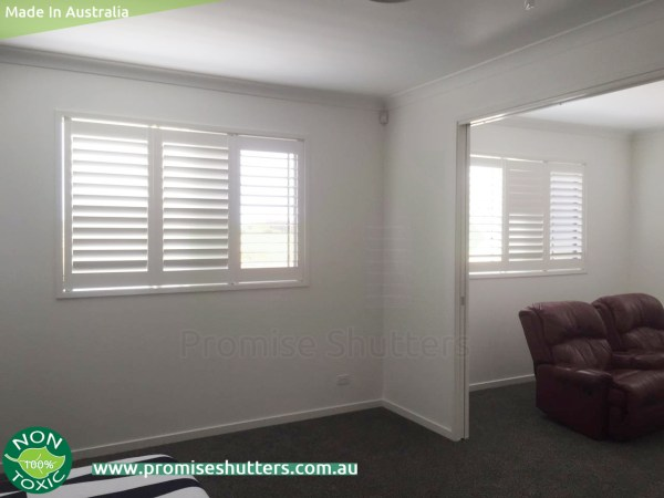 3 panels of internal window shutters