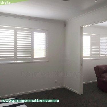 3 panels of internal window shutters