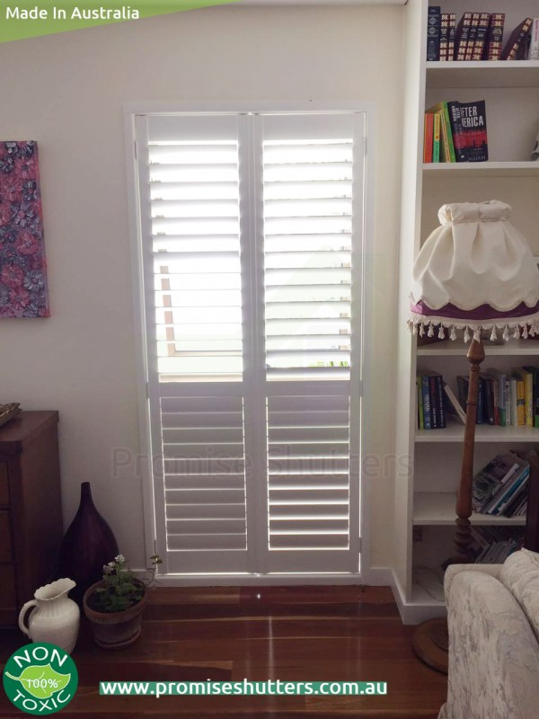 2 panels for the plantation shutters Brisbane