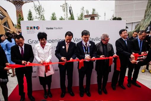 GRAND OPENING CEREMONY VANKE PAVILION EXPO 2015