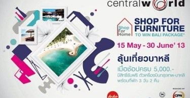 Promotion Shop for home 2013 at Central world May15- June 2013