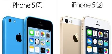 Apple iPhone5S และ iPhone5C สเปค ราคา และวันวางจำหน่าย
