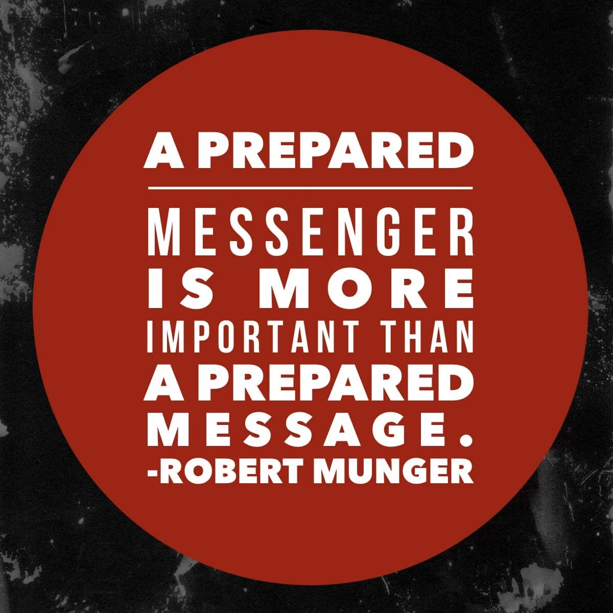 preaching quote robert munger