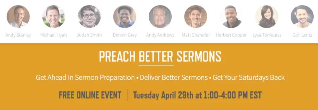 preach better sermons 2014