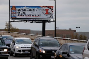 Jose M. Osorio/Chicago Tribune/MCT A Coors Light billboard officially tied to the University of Illinois can be seen on Chicago's North Side, but not in Champaign-Urbana anymore.