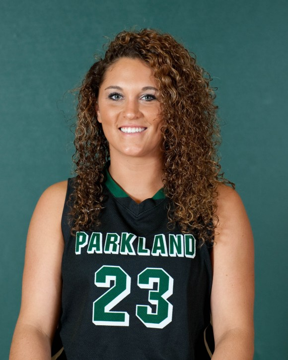 Photo courtesy of Marketing and Public Relations | Parkland College 23	Nadine Vaughn	5-9	SO	F	Pana HS / Pana, IL