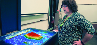 Inventive sandbox gives geology students enhanced perspective
