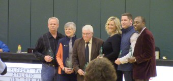 Six inducted into Athletic Hall of Fame