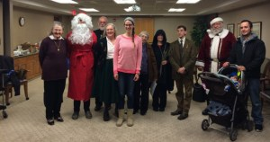 Photo provided by German Club | Celebrating St. Nikolaus Tag with residents of Clark-Lindsey Village.