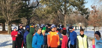 Champaign parks host 5k run through the snow