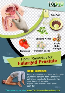 home remedies for enlarged prostate