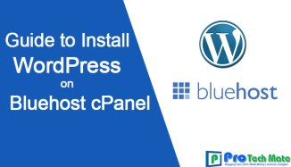 How to Install WordPress on Bluehost cPanel