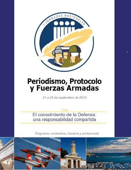 Unas interesantes Jornadas de Periodismo y Protocolo que se celebrarán en Murcia los días 21,22 y 23 de septiembre
