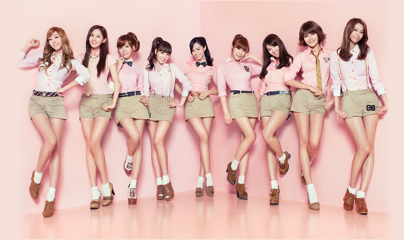 SNSD Korean Kpop girl group concepts Gee single Japanese version Girl's Generation