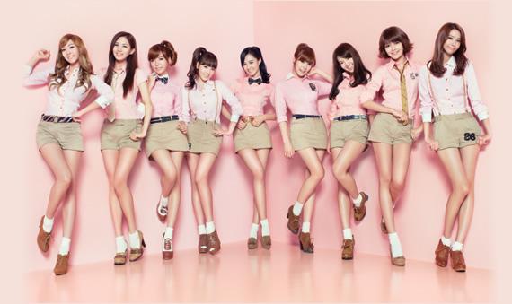 SNSD Korean Kpop girl group concepts Gee single Japanese version Girl's Generation