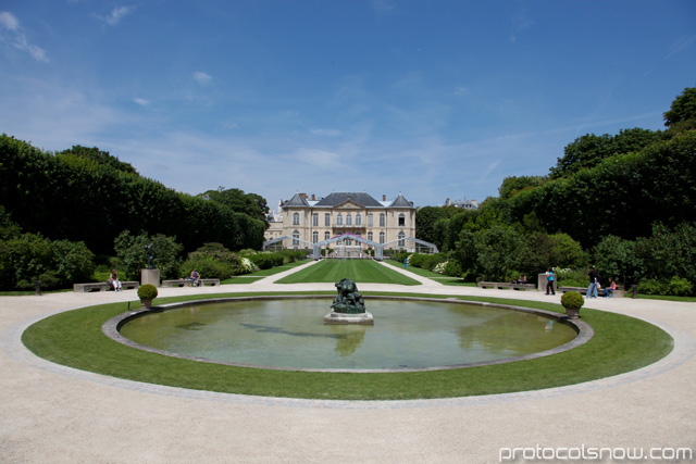 Rodin Museum mansion