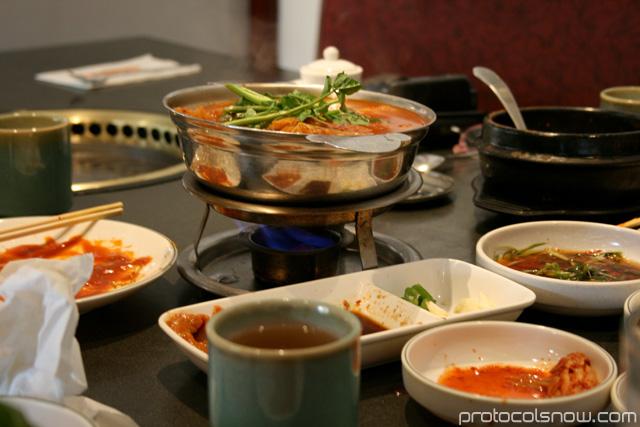 Koreana Korean restaurant BBQ Boston tofu soup