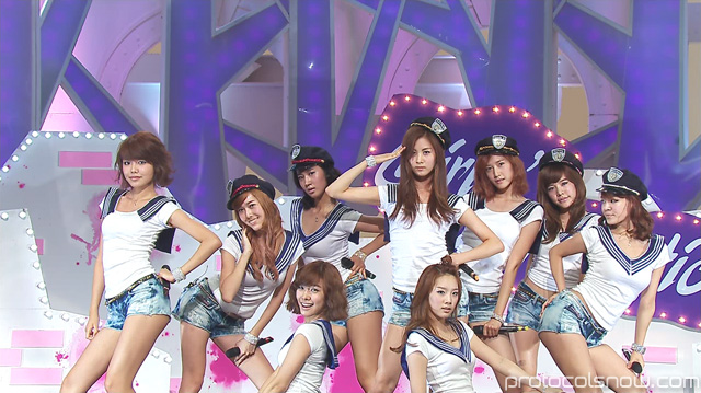 SNSD Girls' Generation Genie Tell Me Your Wish concept promotional outfits costumes clothing KBS Music Bank SBS Popular Song Inkigayo MBC Music Core