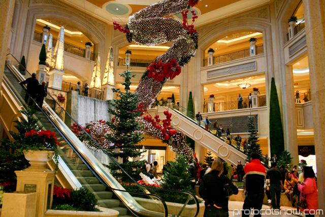 Palazzo Venetian mall resort casino hotel Las Vegas