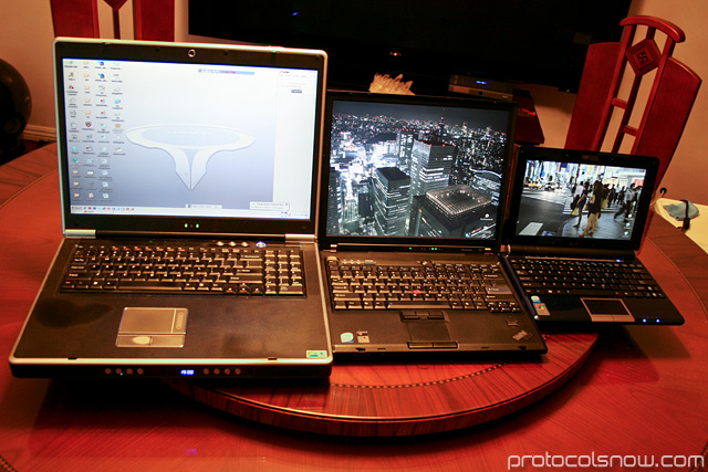 Sager IBM Thinkpad ASUS laptops netbooks