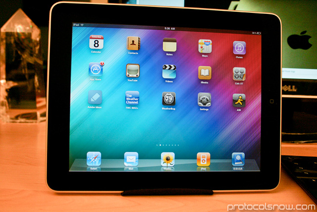iPad Apple tablet review