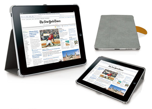 iPad Apple tablet Macally bookstand case