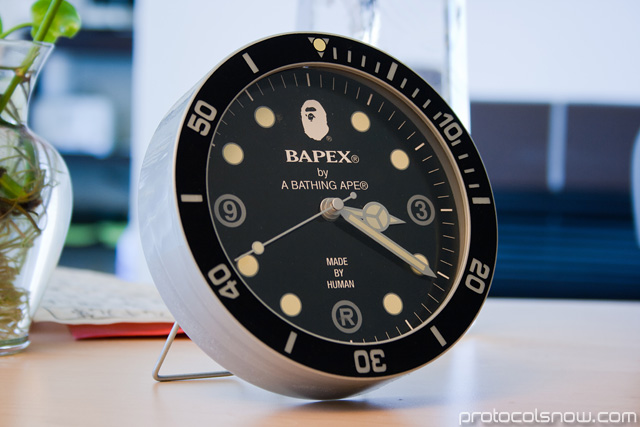 A Bathing Ape Bape e-mook Japanese catalog clock