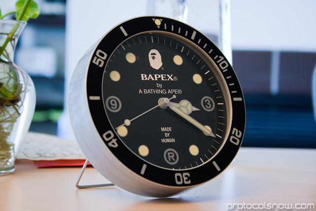 A Bathing Ape Bape e-mook Japanese catalog clock