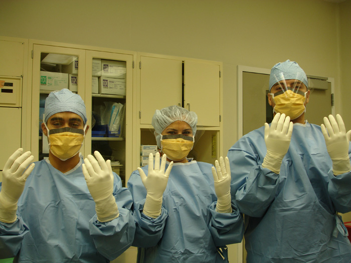 Surgery rotation operating room medical school
