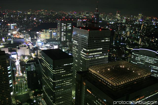 Shinjuku Tokyo Japan Tokyo Park Hyatt view