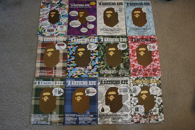 A Bathing Ape Bape catalog e-mook