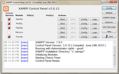 Installing PHP in  local system with XAMPP