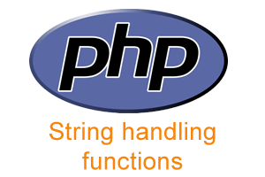 PHP String handling functions