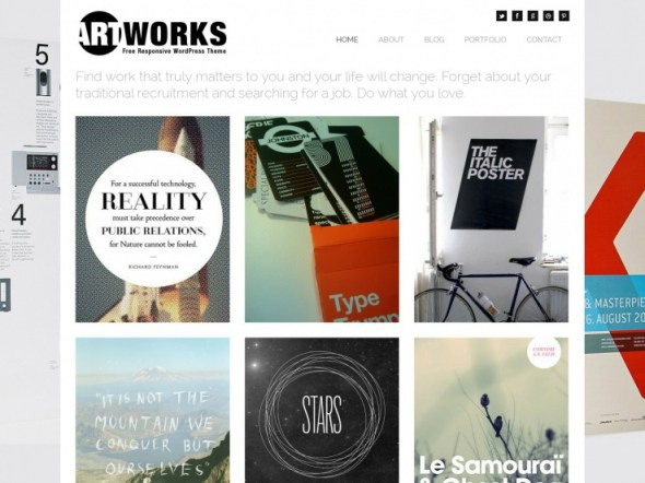 ArtWorks WordPress Portfolio Theme