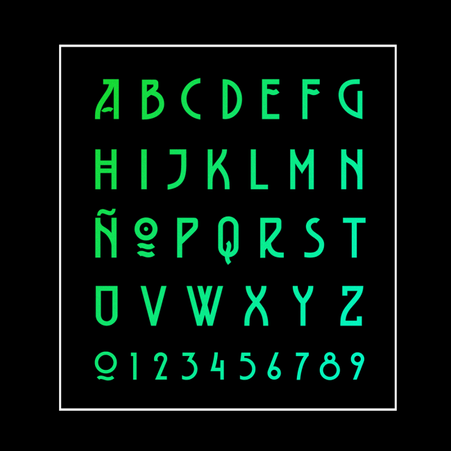 BELLADONA Font