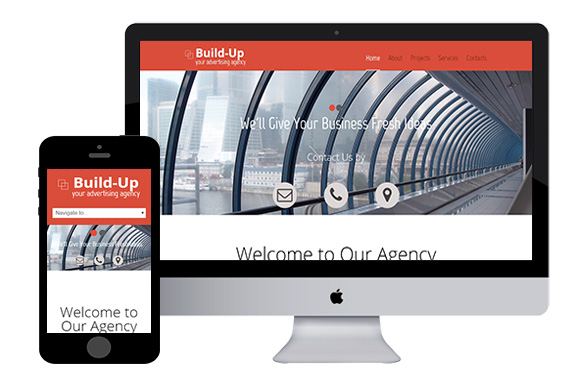 BuildUp Responsive Html5 Template