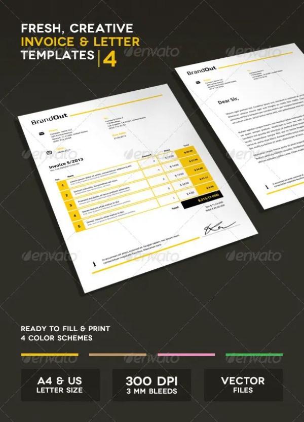 Invoice & Letter Templates IV