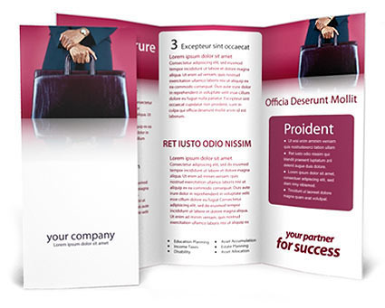 Lawyer Case Brochure Template