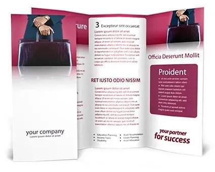 Lawyer Case Brochure Template