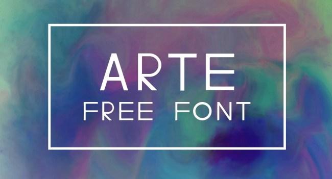 ARTE Font Free