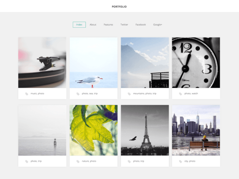 GK Portfolio WordPress Photography Theme