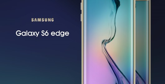 Galaxy Edge S6 Mockup PSD