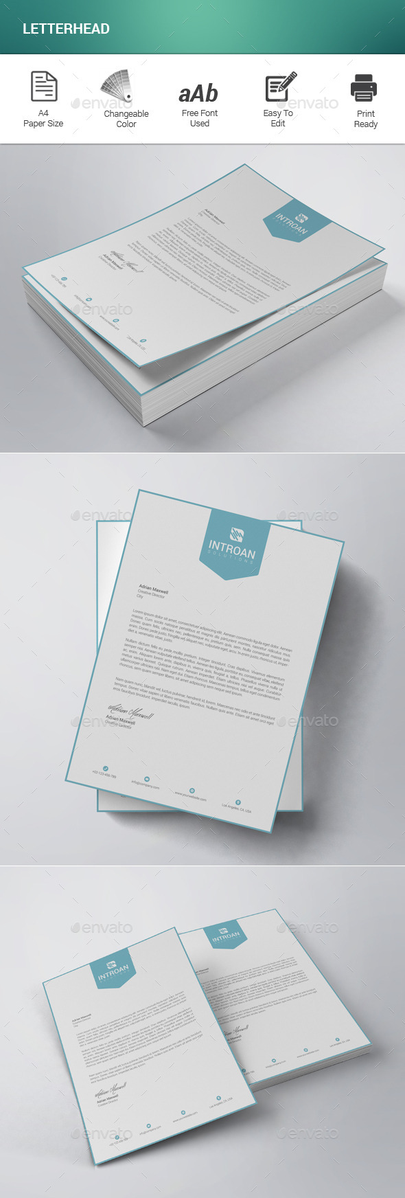 free personal letterhead templates word – Free Letterhead Templates for Word