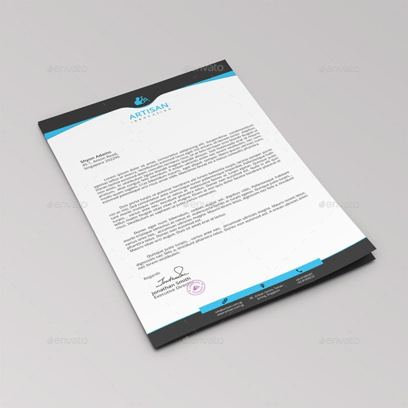 Professional Company Letterhead Template: 12+ Free Letterhead Templates In PSD MS Word And PDF