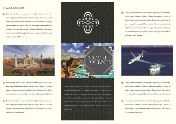 65 print ready brochure templates free psd indesign ai download psdtemplatesblog for Travel brochure templates
