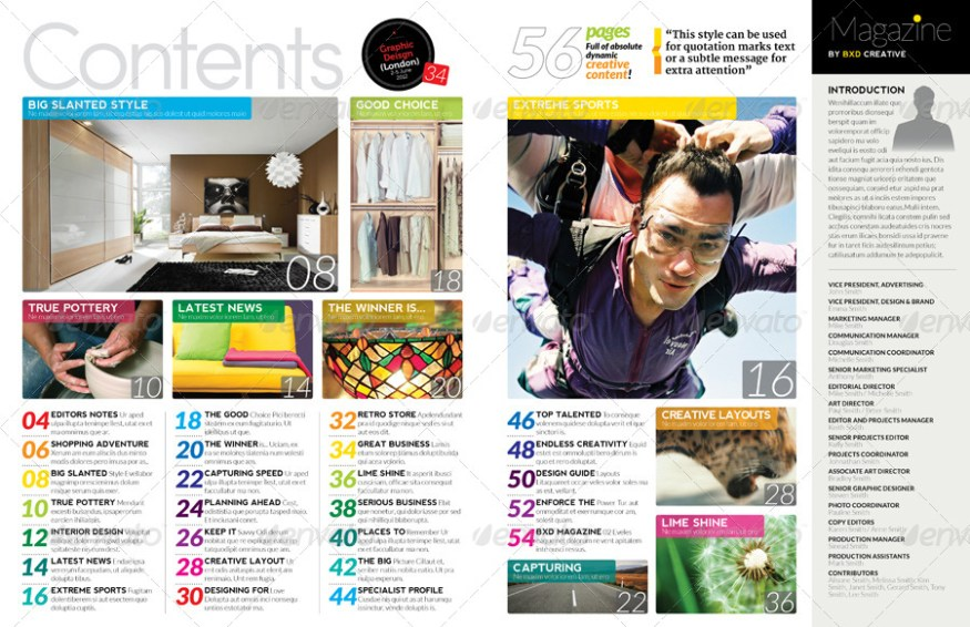 55 best magazine templates photoshop psd indesign download psdtemplatesblog. Black Bedroom Furniture Sets. Home Design Ideas