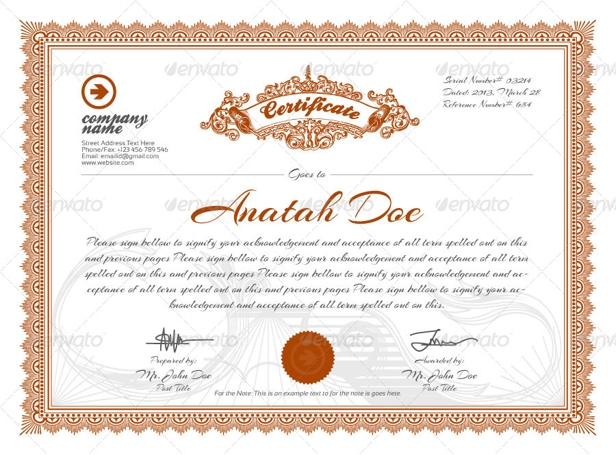 50+ Diploma and Certificate Templates in PSD Word Vector EPS ...